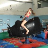 Touro mecânico, diversão para adultos e crianças, festas infantis, festas religiosas, eventos escola