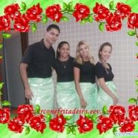 Nosso uniforme preto com verde