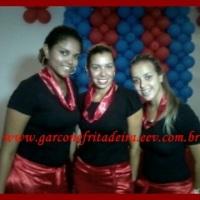 Nosso uniforme vermelho com preto!!