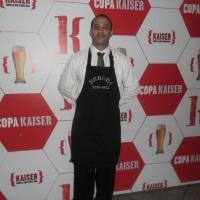 Garçom Copa Kaiser 2014.