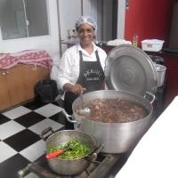 Cozinheira para Casamento Garçons Berohi.