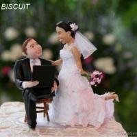 gilneide artes noivinhos personalizados de biscuit