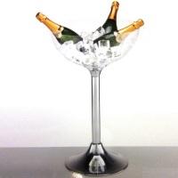 Champanheira com pedestal