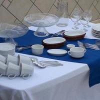 Peças para mesa café colonial