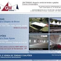 GM Tendas - Aluguel e Venda de Tendas e Galpões - http://www.gmtendas.com.br