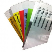 Pulseiras de identificação Boop com Lacre adesivo inviolável