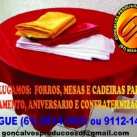 FORROS DE MESAS  130X130 150X150