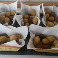 Salgadinhos fritos na HORA. Contrate nossas barraquinhas!!!