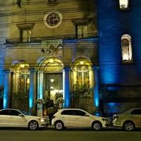 Igreja São Sebastião, nossa Iluminação em tom azul!