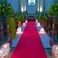 Igreja N.S Nazaré e nossa Iluminação com Taliscas