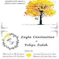 Convite por dentro - Créditos: Gracia Constantino.