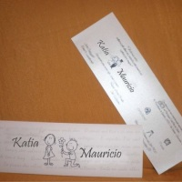 Convite de casamento 5