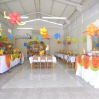 Festa Infantil com decoração do Pooh
