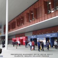 RECEPÇÃO - FEIRA MILANO - EXPO SÃO PAULO