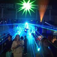 Laser RGB 5 Watts (Clube Mauá de São Gonçalo)