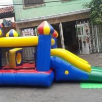 Castelinho pula pula com Escorregador