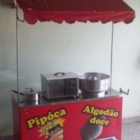 BARRACA DE PIPOCA E ALGODAO DOCE