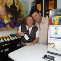 Faces vinho oficial da Copa 2014