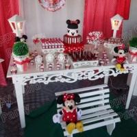 Decoração kit 2 - Minnie Vermelha