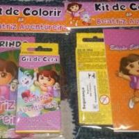 Lembraças Kit Pintura Dora Ventureira