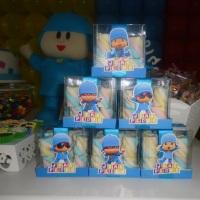Lembranças - Caixa com marshmallow Pocoyo