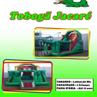 TOBOGÃ JACARÉ