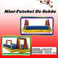 MINI FUTEBOL DE SABÃO