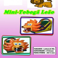 MINI TOBOGÃ LEÃO