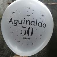 balão para aniversário de adulto