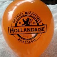 balão com logomarca de restaurante