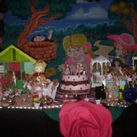 Infantil-Casa de bonecas
