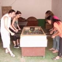 Chácara Altamira - salão de festas para 120 pessoas e salão de jogos c/ pebolim, snooker e ping-pong