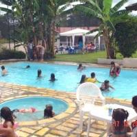 Chácara Meu Cantinho - piscinas infantil e adulta