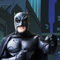 Batman Hello heroes personagens vivos