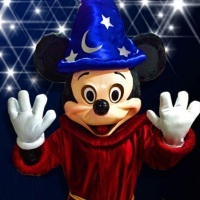 Mickey Fantasia Hello Heroes Personagens vivos em Santa Catarina