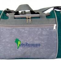 Bolsa de viagem média com alça regulavel, bolso frontal, bolsos laterais e fechamento ziper COD:002