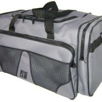 Bolsa de viagem grande com bolso frontal, bolsos laterais e alça regulavel COD: BOL 001