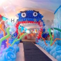 Tubarão de balões!
