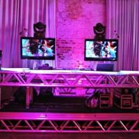 Estrutura bancada para DJ