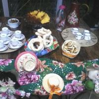 Cafe em festa junina