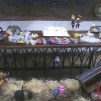 Mesa tipica festa junina