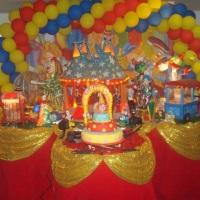 mesa luxo circo
