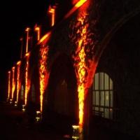 Iluminação sênica externa castelo Di Firenze