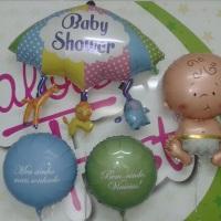 temos diversos baloes p chá de bebe