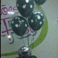 balões duplos com gás hélio
