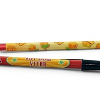 Etiqueta personalizada para caneta
