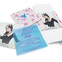 Convite Personalizado com Envelope Personalizado
