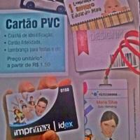 Na #imprimixAldeota, você encontra cartões para crachás nas cores preto, azul, verde, vermelho, lara