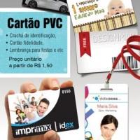 Credenciais e cartões PVC