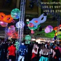 decoração de bailes de carnaval, decoração de carnaval, decoração de final de ano